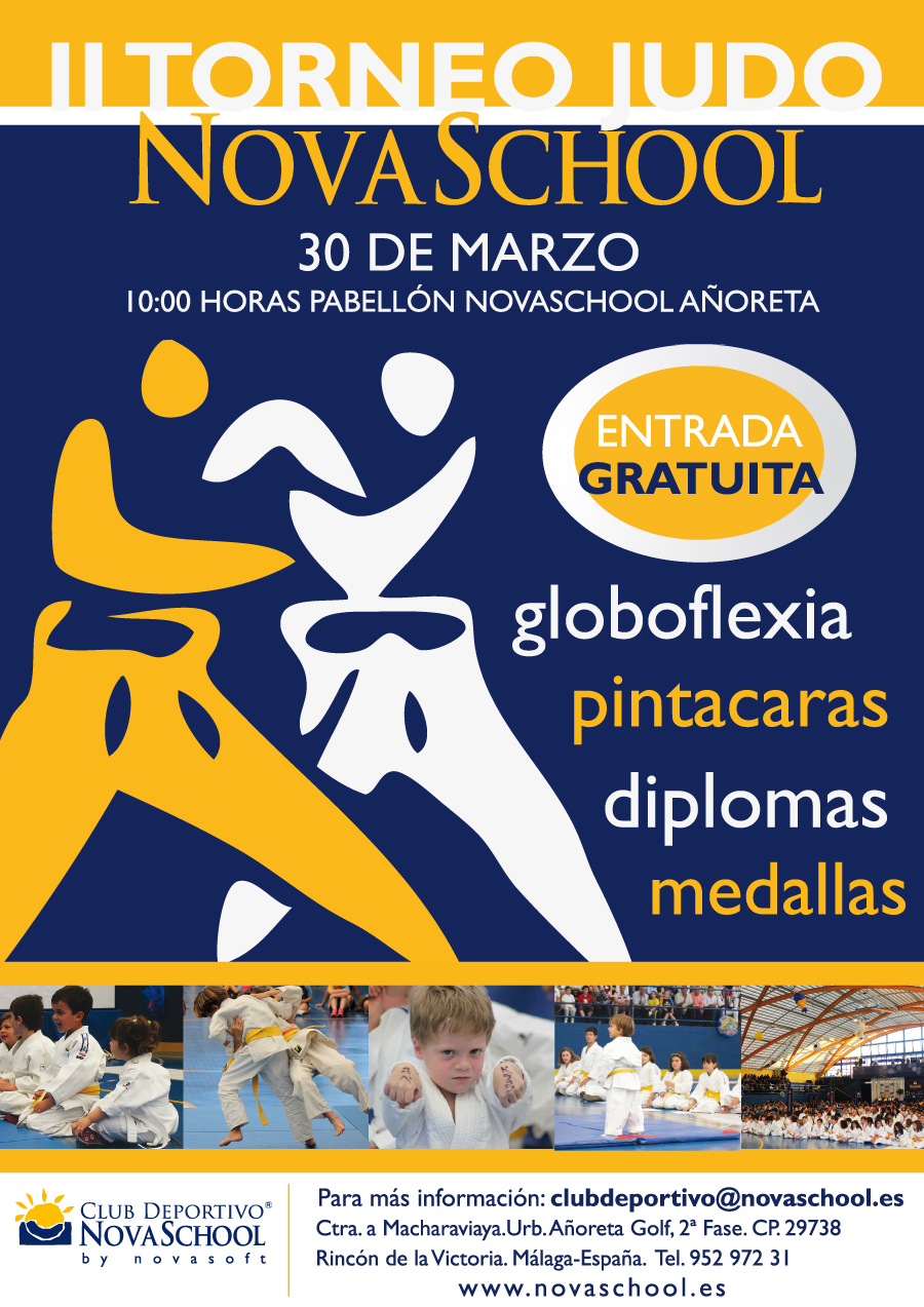 Cartel_II_Torneo_Judo_Novaschool