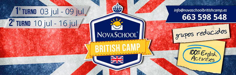 Novaschool British Camp 2016