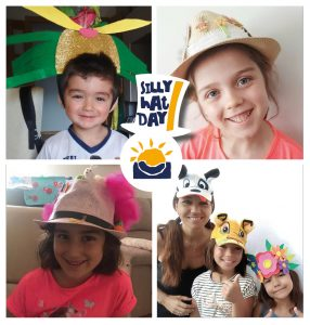 Celebramos el Silly Hat Day